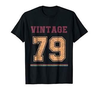 Vintage t shirt Born in 1979 Birthday Gift Retro Shirt