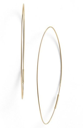 Women's Lana Jewelry 'Magic' Large Oval Hoop Earrings $310 thestylecure.com