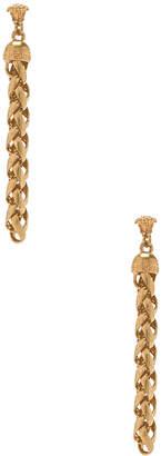 Versace Chain Drop Earrings