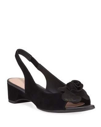 2de1b386a56ab Taryn Rose Black Wedges - ShopStyle