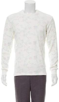 Supreme 2016 Floral Waffle Thermal Shirt w/ Tags