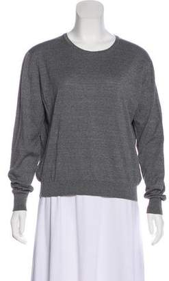 Burberry Long Sleeve Knit Top