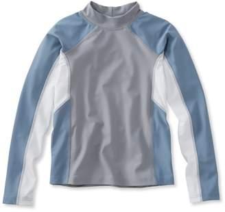 L.L. Bean L.L.Bean Boys' Sun-and-Surf Shirt, Long-Sleeve Colorblock