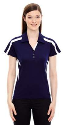 Ash City - North End Sport Red Ladies' Accelerate UTK cool?logik Performance Polo - NIGHT 846 - XS 78667