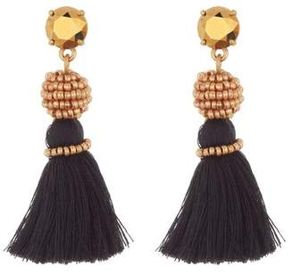 J.Crew J. Crew Bead & Tassel Drop Earrings
