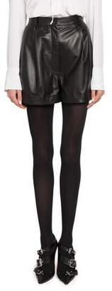 Altuzarra High-Waist Cuffed Shorts