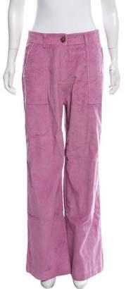 Rachel Antonoff Wide-Leg Corduroy Pants