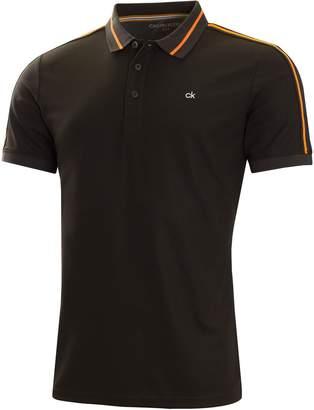 Next Mens Calvin Klein Golf Black Extension Polo