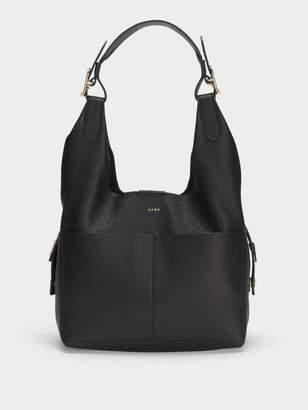 DKNY Wes Leather Hobo Bag