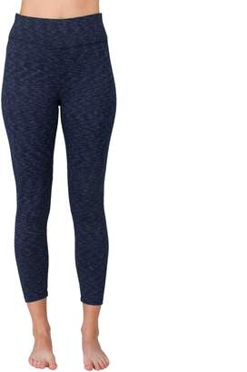Spalding Women's Cascade Jacquard High-Waisted Ankle Leggings