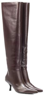 The Row Bourgeoise over-the-knee boot