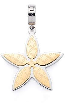 Leonardo Jewels Darlin's Stainless Steel Gold Pendant, Glass, Valentina