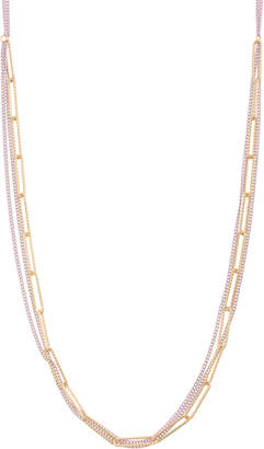 d3e9d6b71d64 Oliver Bonas Wonder Fancy Chain   Linked Ovals Long Necklace