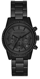 Michael Kors Women's Ritz Stainless Steel Chronograph Watch