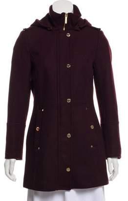 MICHAEL Michael Kors Short Wool Coat