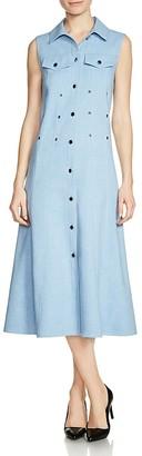 Maje Riha Midi Dress $480 thestylecure.com