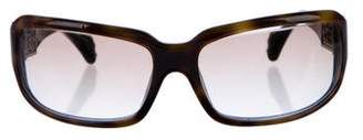 Chrome Hearts Embellished Tortoiseshell Sunglasses
