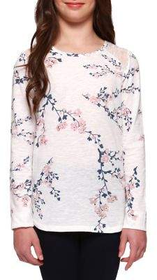 Dex Girl's Lace Printed Top