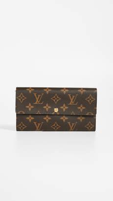 Louis Vuitton What Goes Around Comes Around Monogram Sarah Wallet