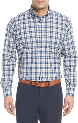 Peter Millar COLLECTION Kairos Regular Fit Melange Check Sport Shirt