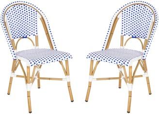 Safavieh 2-pc. Salcha Stackable Chair Set - Indoor & Outdoor