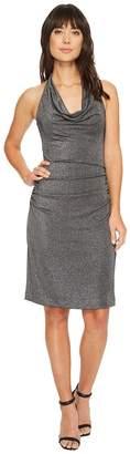 Nicole Miller Glitz Cowl Dress Women's Dress