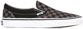 Vans checked slippers
