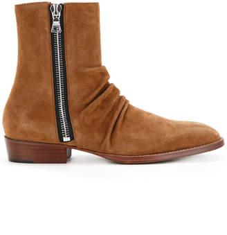 Amiri side zip boots