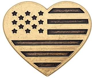 Alex and Ani Heart Flag Pin
