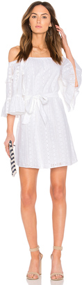 Line & Dot Celia Peasant Dress $110 thestylecure.com