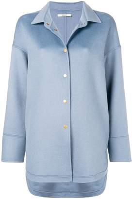 Odeeh snap fastening coat