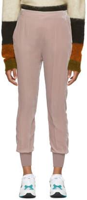 Stella McCartney Pink Velvet Trousers
