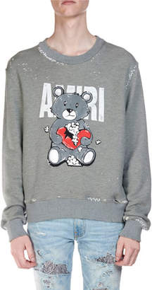Amiri Men's Teddy Repair Sweatshirt