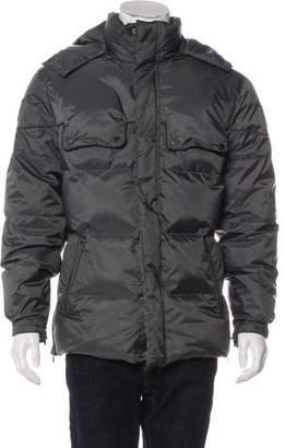 Belstaff Hooded Down Coat