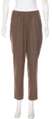 Lafayette 148 Mid-Rise Straight-Leg Wool Pants