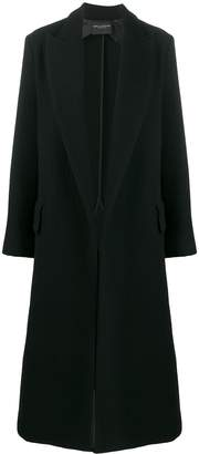 Cavallini Erika long single-breasted coat
