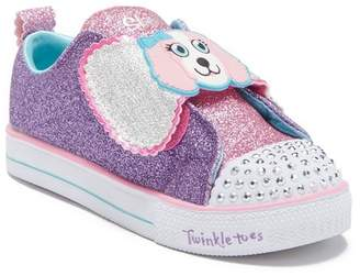Skechers Shuffle Lite Glitter Light-Up Sneaker (Toddler & Little Kid)