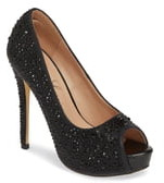 Lauren Lorraine Candy 6 Open Toe Pump