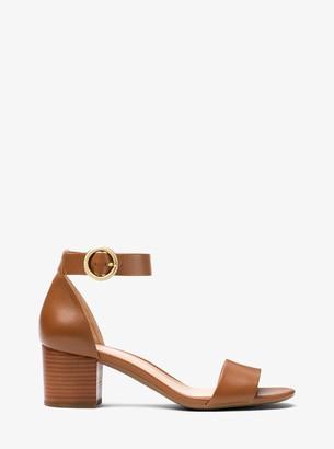 MICHAEL Michael Kors Lena Leather Sandal