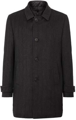 Corneliani Herringbone Wool Coat