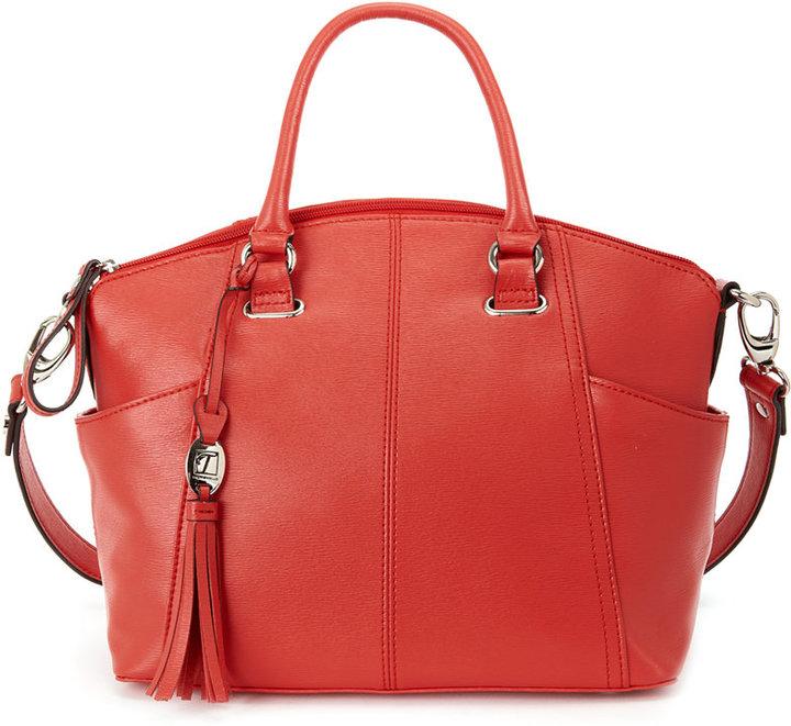 Handbag, Sophisticate Leather Convertible Satchel