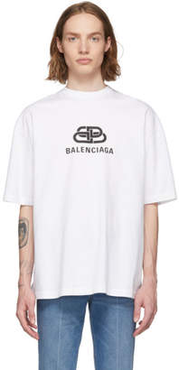 Balenciaga White BB T-Shirt