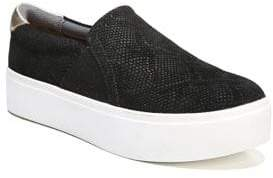 Dr. Scholl's Abbot Suede Slip-On Sneakers