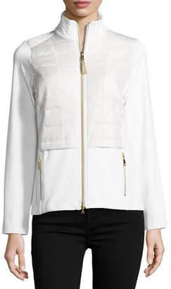 Bogner Sport Morina Zip-Front Utility Jacket