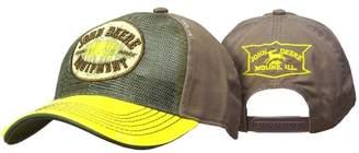 John Deere Reverse Mesh Vintage Patch Brown Hat