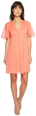 Catherine Malandrino Odom Flutter Back Dress Women's Dress