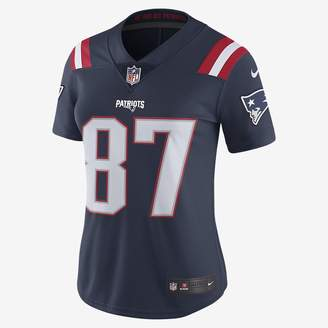 Nike NFL New England Patriots Color Rush Limited (Rob Gronkowski) Women's Football Jersey