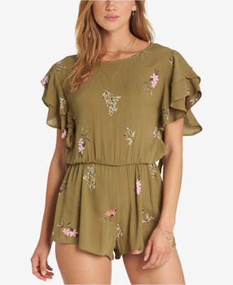 Billabong Juniors' Heavenly Fields Printed Romper