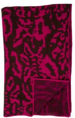 Diane von Furstenberg Cashmere Jacquard Throw Blanket