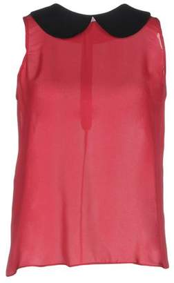 3aba987f Emporio Armani Red Tops For Women on Sale - ShopStyle UK